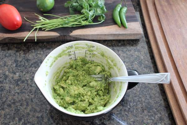 Cilantro Lime Guacamole