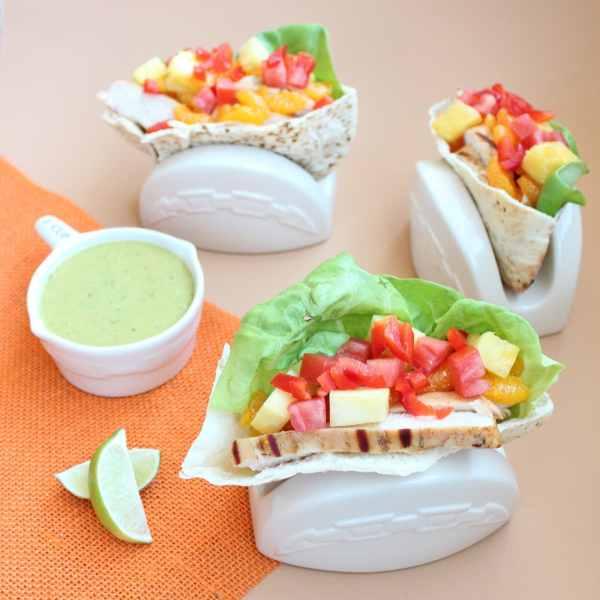 Caribbean Chicken Pita Sandwich Recipe