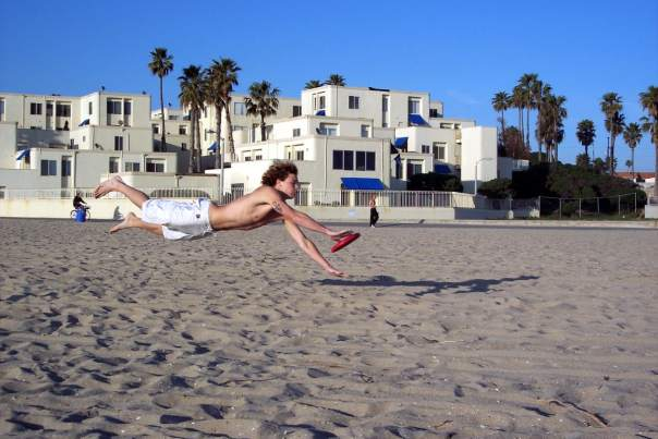 Exercise-Frisbee
