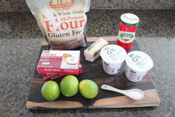 Mini Cherry Limeade Tarts Ingredients