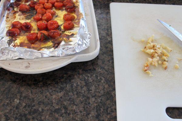 Roasted Tomato and Garlic Bruschetta Recipe