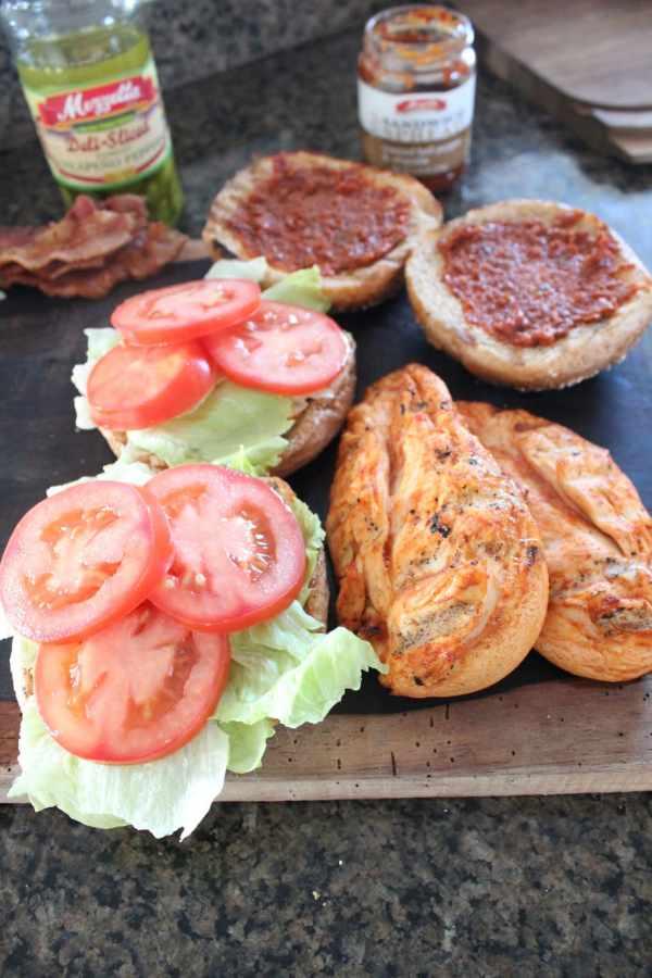Grilled Chipotle Chicken BLT Recipe
