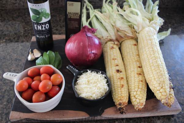 Italian Corn Salad Ingredients