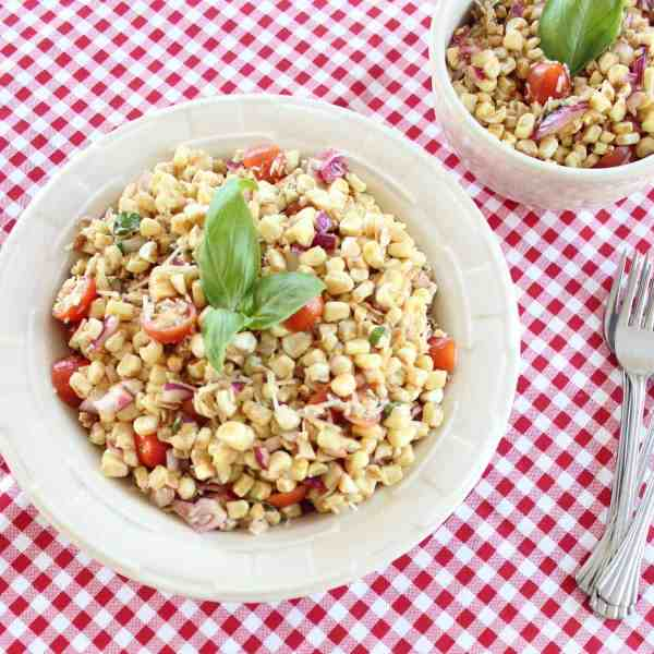 Italian Corn and Tomato Salad