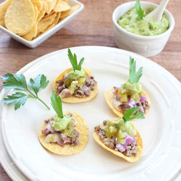 Mini Beef and Bacon Taco Recipe
