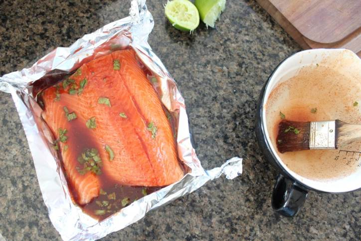 Chipotle Honey Glazed Salmon