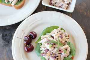 Cherry Tarragon Chicken Salad Sandwich
