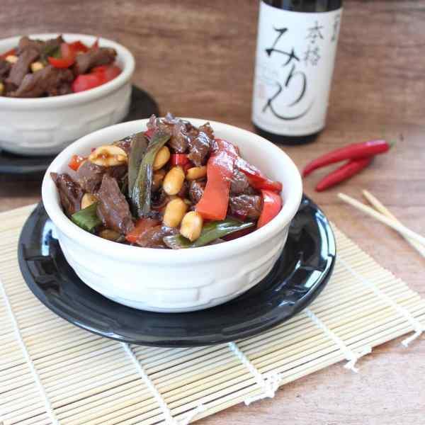 Simple Homemade Kung Pao Beef