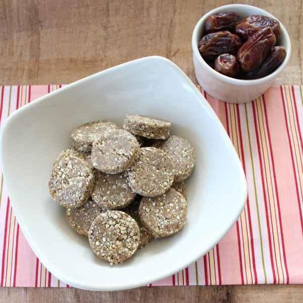 Almond Date Protein Bites
