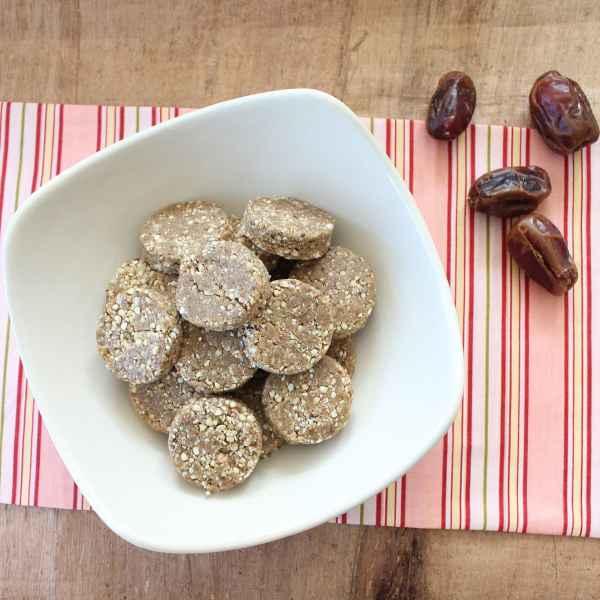 Buckwheat Almond Date Protein Bites