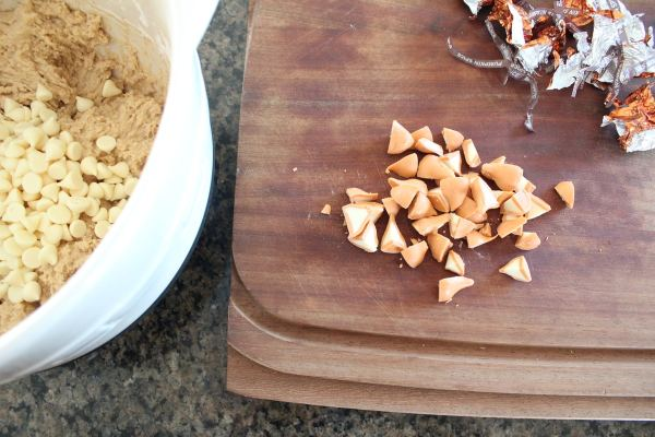 Pumpkin Spice Hershey Kiss Cookies