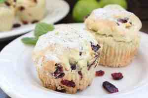 Cranberry Mojito Muffins