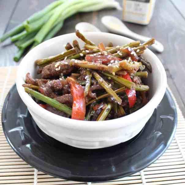 Asparagus Beef Stir Fry