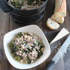 Cooking with Wonderbag: Kale Turkey Soup