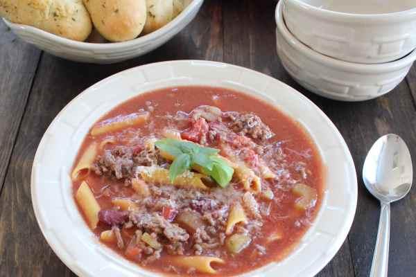 Gluten Free Pasta e Fagioli Soup