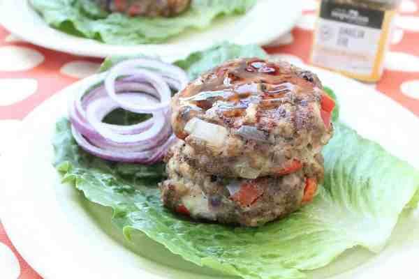 Gluten Free Jerk Chicken Burgers