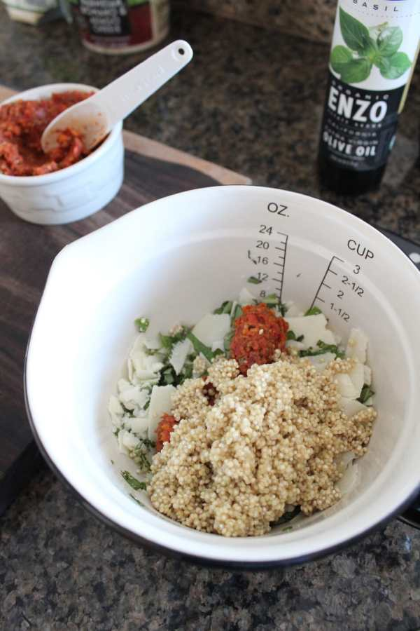 Italian Quinoa Stuffed Mushroom Recipe