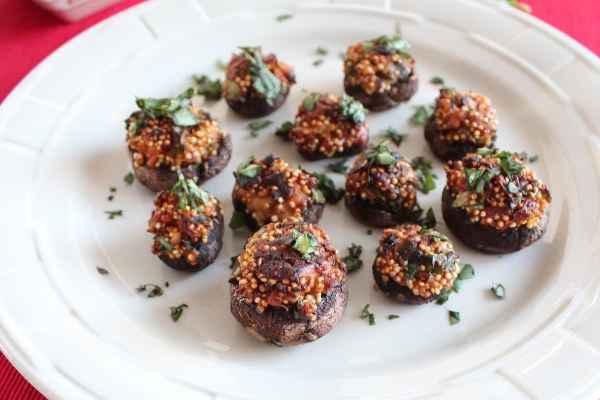 Quinoa Stuffed Mushroom Recipe
