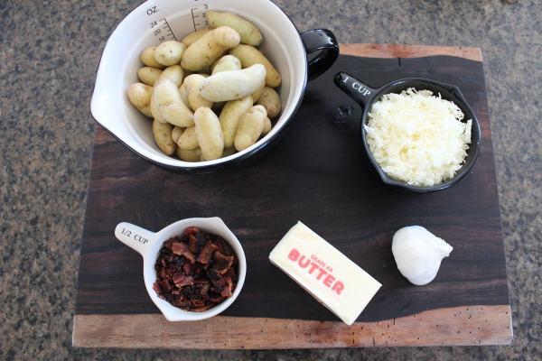 Mini Potato Skins Ingredients