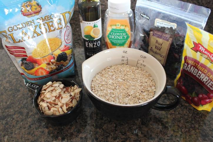 Heart Healthy Granola Bar Ingredients