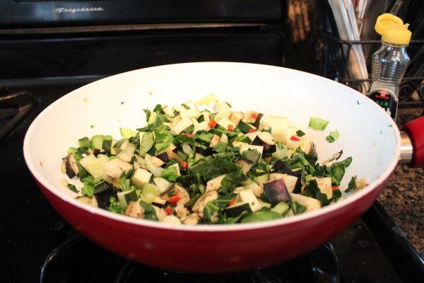 Stir Fried Spring Roll Vegetables