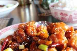 Chinese Restaurant Orange Chicken