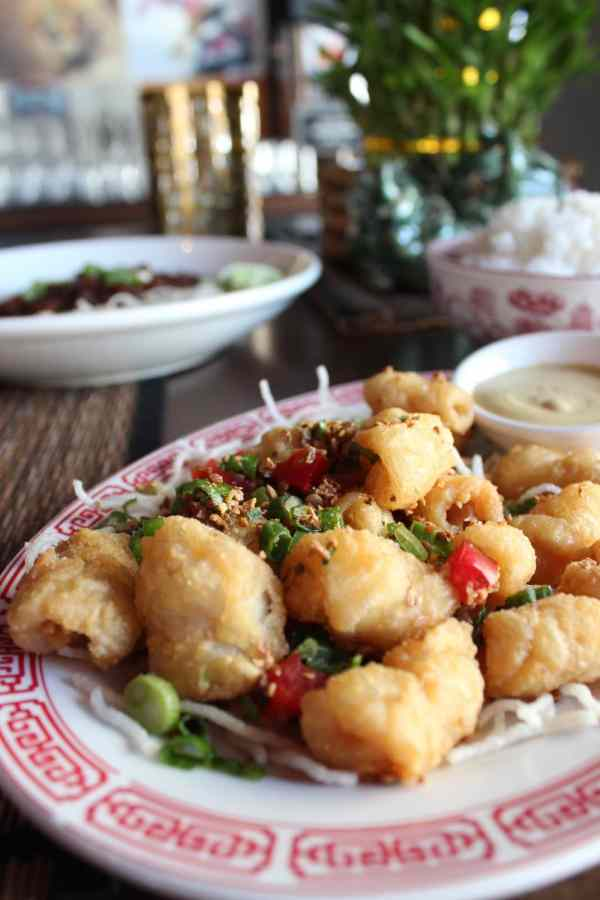 Chinese Restaurant Salt and Pepper Calamari
