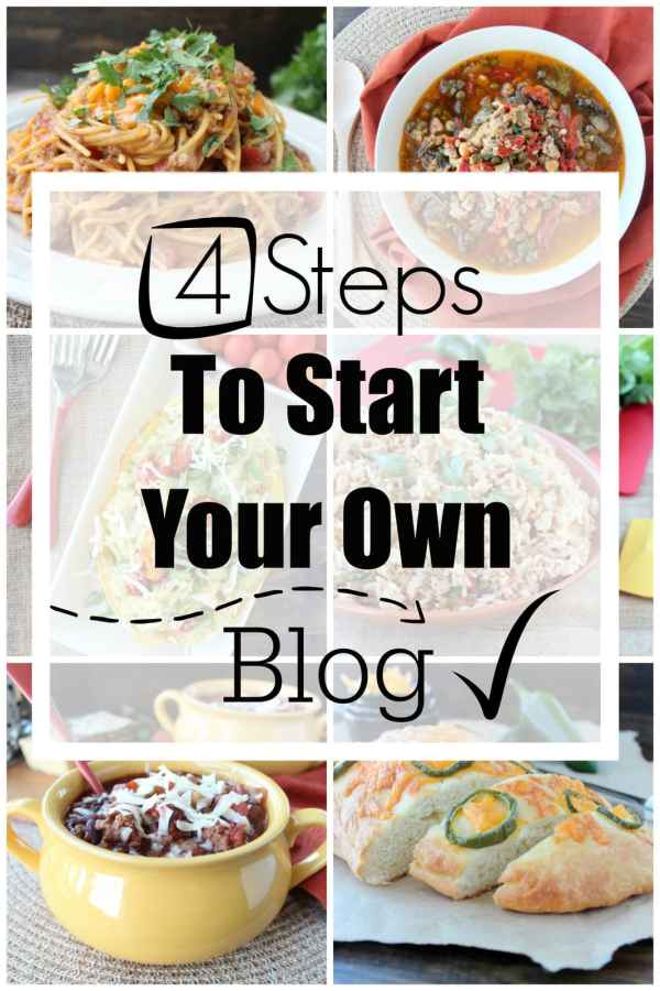 4 Steps To Start Your Own Blog
