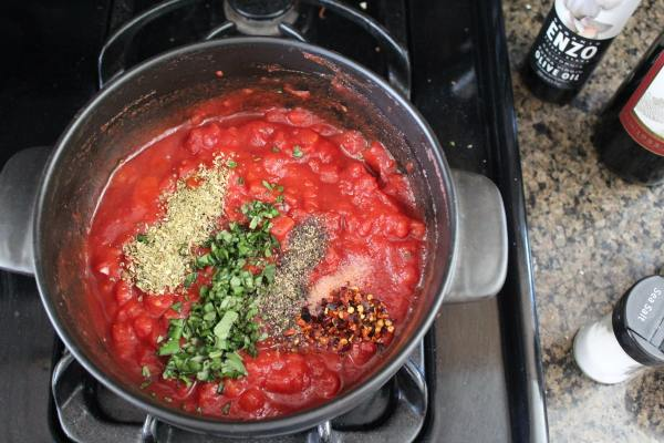 Red Wine Tomato Sauce Recipe