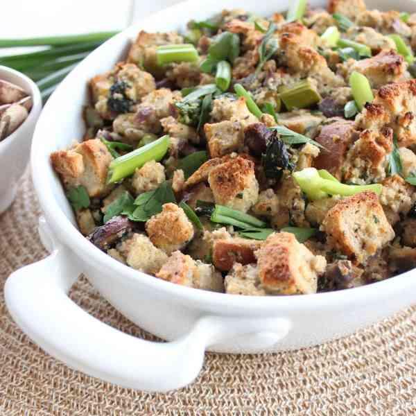 Gluten Free Spring Stuffing Recipe