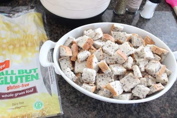 Gluten Free Breakfast Strata Recipe