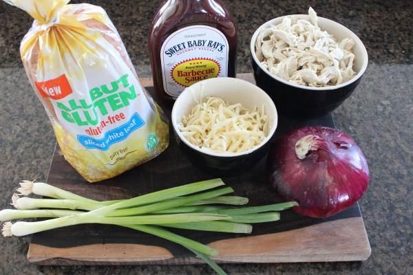 Gluten Free BBQ Chicken Flatbread Ingredients
