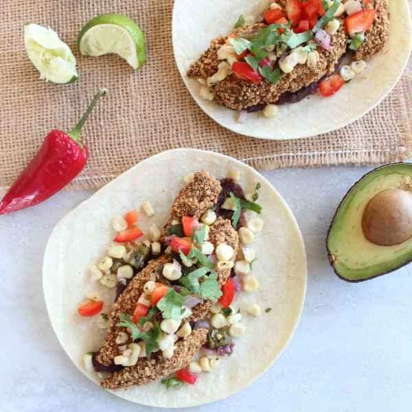 Avocado Vegetarian Tacos
