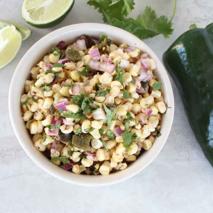 Poblano Corn Salsa Recipe