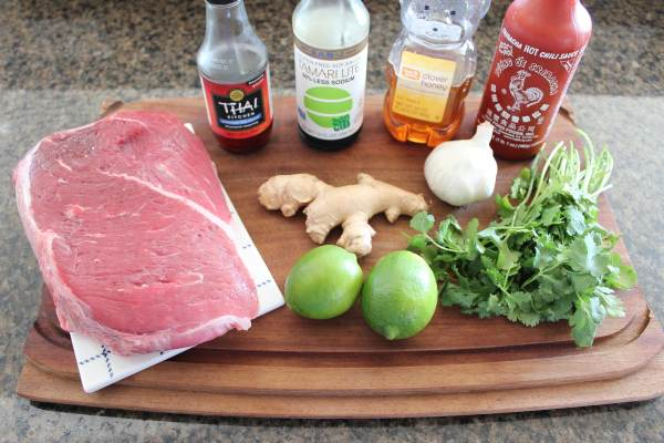 Crock Pot Thai Beef Ingredients