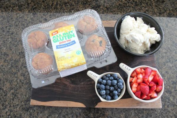 Gluten Free Dessert Cups Ingredients