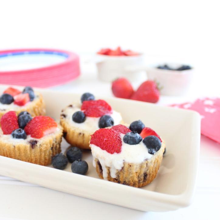 Gluten Free Blueberry Muffin Dessert Cups