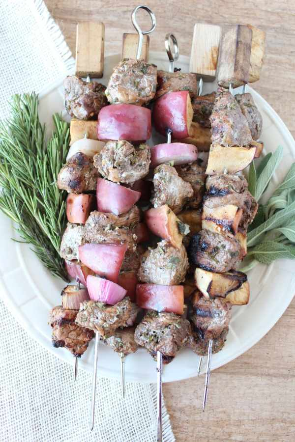 Pork Tenderloin Skewers