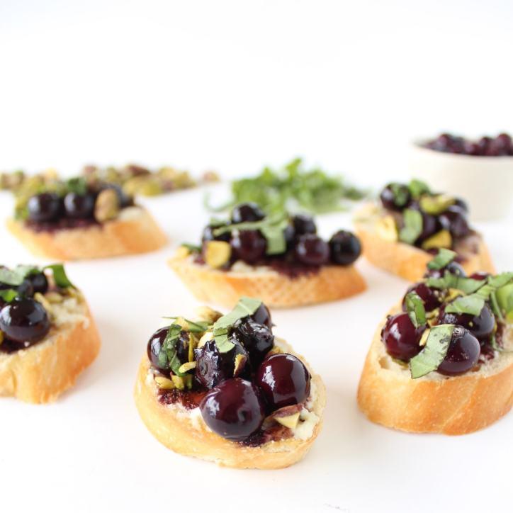 Blueberry Crostini