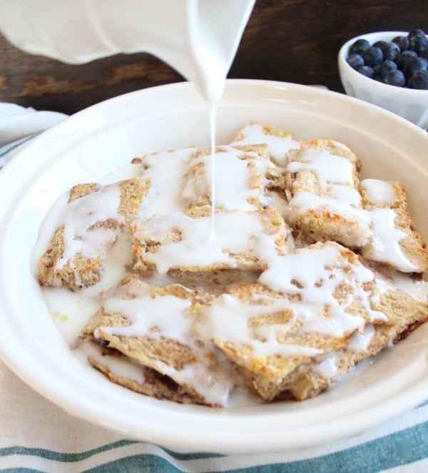 Gluten Free Cinnamon Roll Casserole