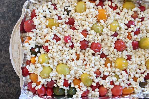 Roasted Corn & Tomato Risotto Recipe