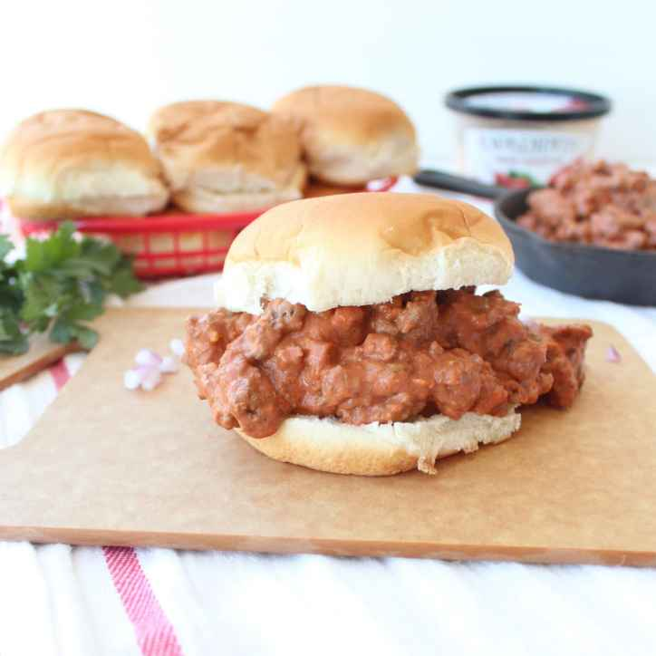 Chipotle Ranch Sloppy Joes