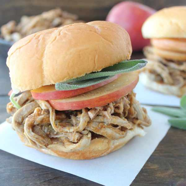 Pumpkin Pulled Pork Sandwich Recipe