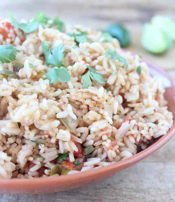 Cilantro Lime Mexican Rice