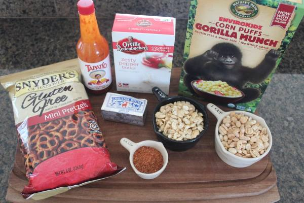 Gluten Free Taco Party Mix Ingredients