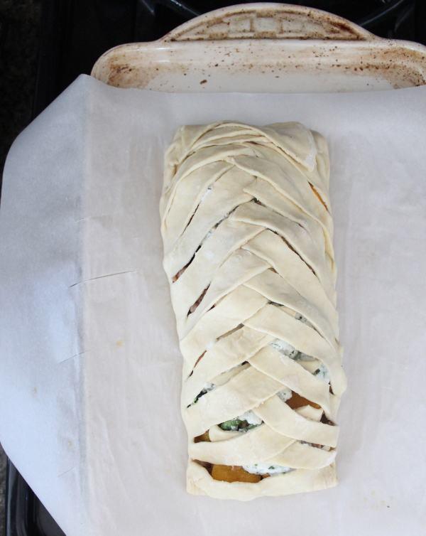 Braided Puff Pastry Strudel Recipe