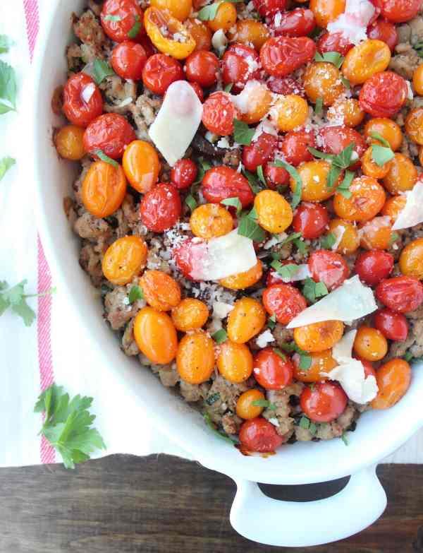 Gluten Free Italian Turkey Casserole