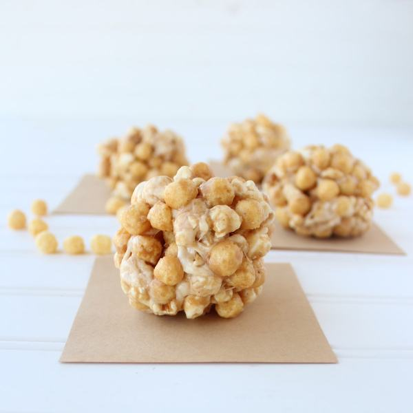 Peanut Butter Popcorn Ball Recipe