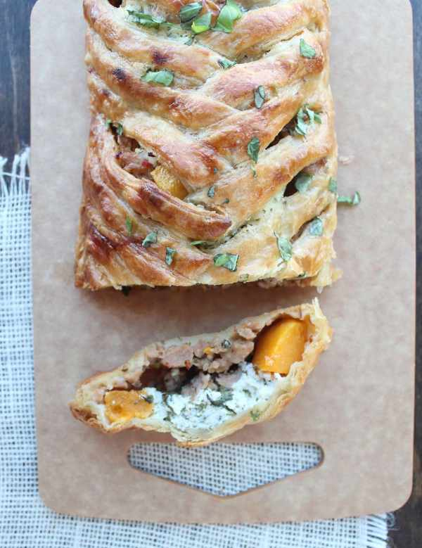 Braided Puff Pastry Strudel Recipe