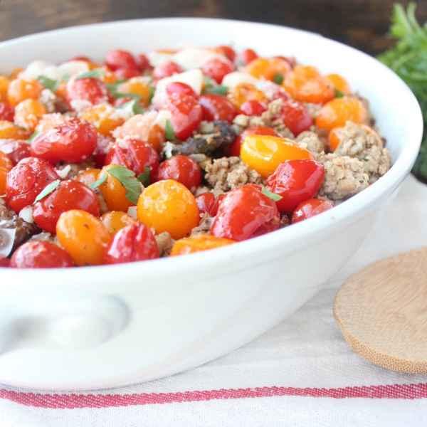 Gluten Free Italian Polenta Turkey Casserole
